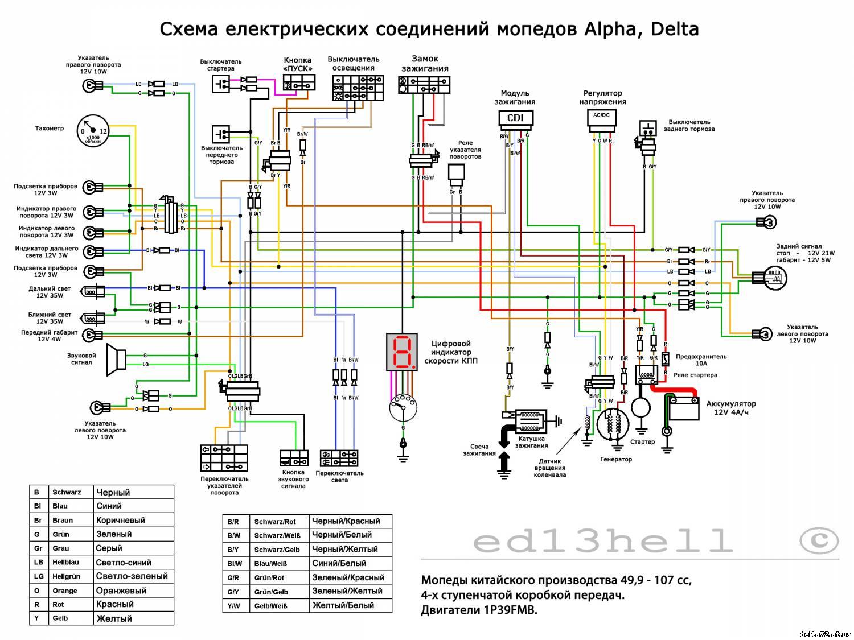 принципиальная электрическая схема генератора пробника