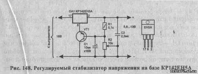 Своими руками стабилизатор напряжения 9 вольт